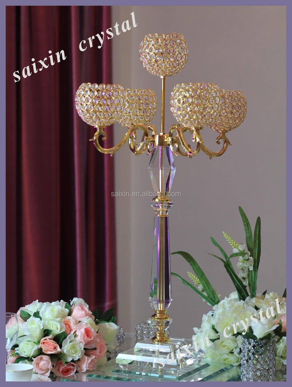 Gorgeous new design gold globe candelabra for wedding centerpieces gorgeous new design gold globe candelabra for wedding centerpieces junglespirit Images