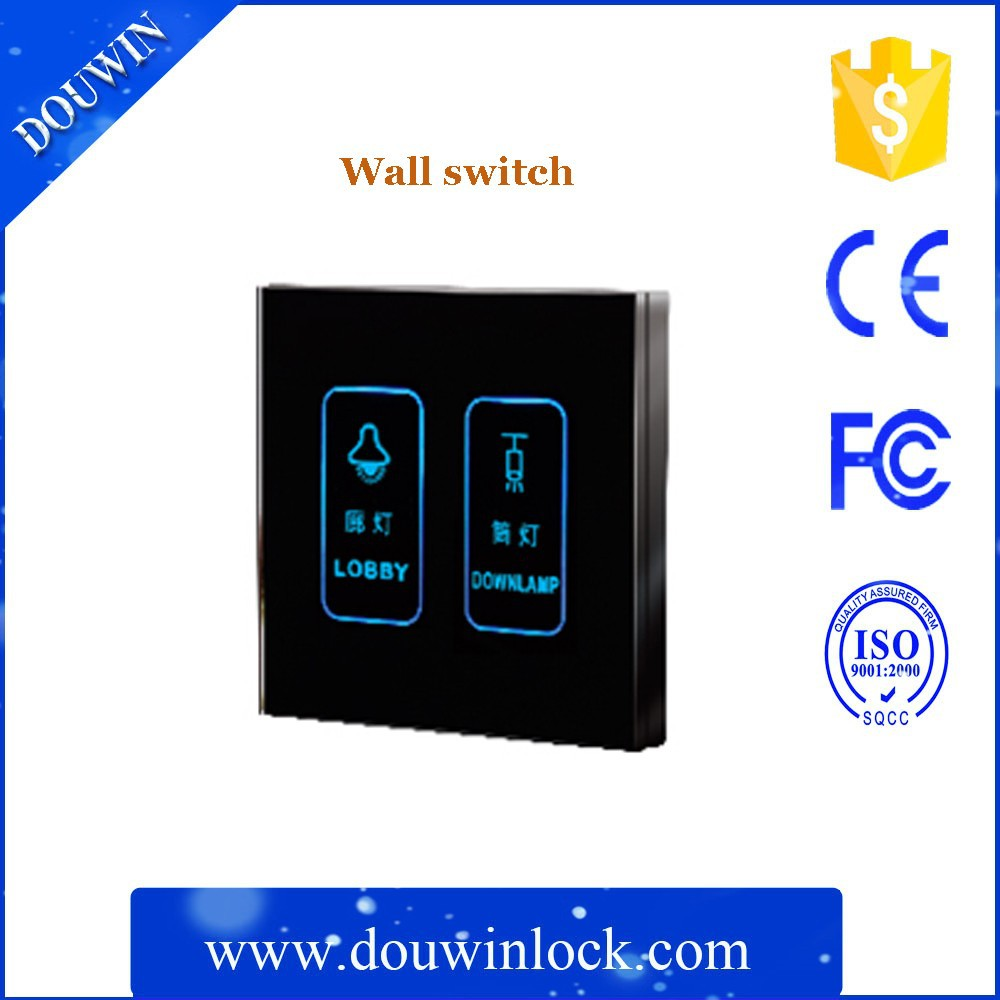 smart home touch screen light wall switch for house/hotel
