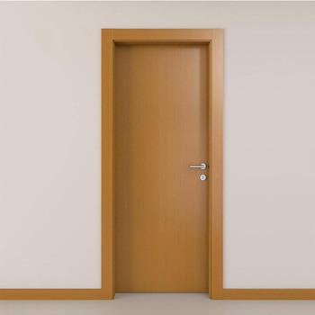 Modern Bedroom Door Design Wooden Flush With Frame