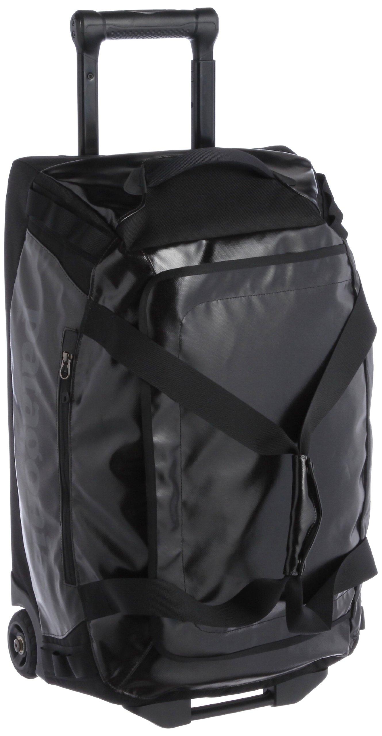 d9daee6a82 Get Quotations · Patagonia Black Hole Wheeled Duffel 45L Duffel Bag Black