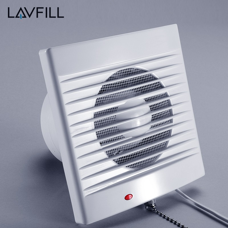 Wall/window Mount Exhaustor Fan With Timer Kitchen Bathroom Exhaust Fan -  Buy Fan With Timer,Wall Mounted Bathroom Exhaust Fan,Exhaust Fan Additional  ...