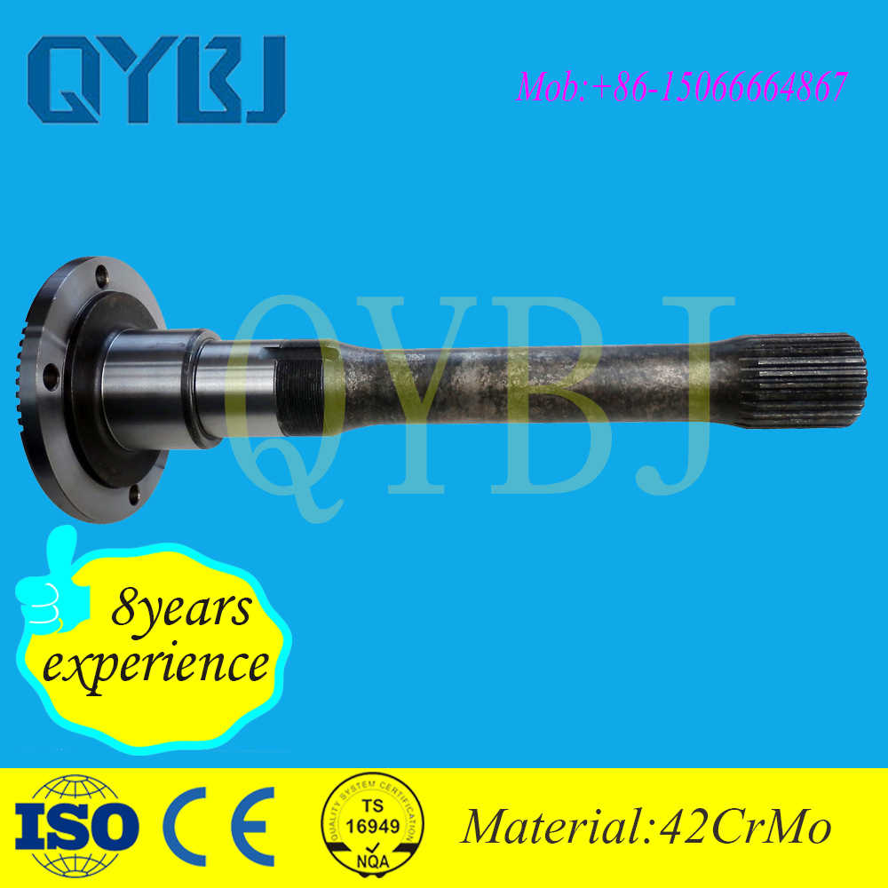 Zhangqiu heavy duty accessory lada niva parts rear axle driving shaft new AC16 tandem axle,auto parts professional manufacturer