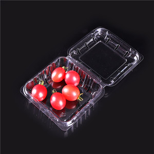 High Quality Disposable Plastic Food Blister Fruit Tray