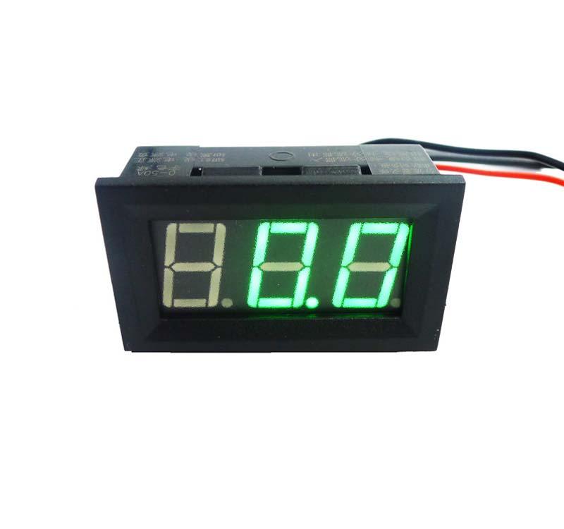 GEREE Blue Digital Ammeter LED Display 0.56 Digital DC 0-100A Ammeter Amp Ampere Meter Connect with 100A//75mV Ammeter Shunt