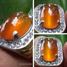 2015 New arrivel stainless steel indonesia titanium ring for gemstone
