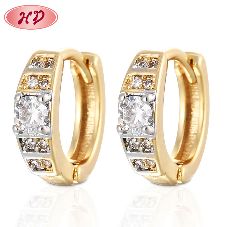 Fashion 18k Jewelry 2018 Turkish Gold Earrings Fancy Party Earrings,All  Types Of Earrings - Buy All Types Of Earrings,Turkish Gold Earrings,Party