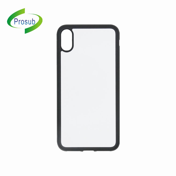 2D TPU + PC Sublimasi Ponsel Case Transfer Panas Mobile Phone Case DIY Kosong Smartphone Cover UNTUK iPhone X Max
