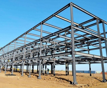 Steel Structure Prefab Construction with Drawings