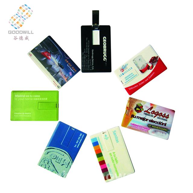 Best quality Free sample Name card usb flash drives usb key real capacity custom usb card - USBSKY | USBSKY.NET