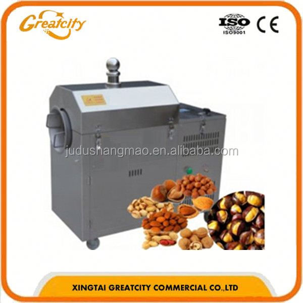 factory price commercial sunflower seeds drum roaster for sale/sunflower seeds roaster for sale