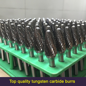 Factory supply top quality tungsten carbide rotary burs, solid carbide burrs