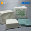 Eco friendly 50gsm industry use Spunlaced Cleanroom wiper cloth made of PET viscose