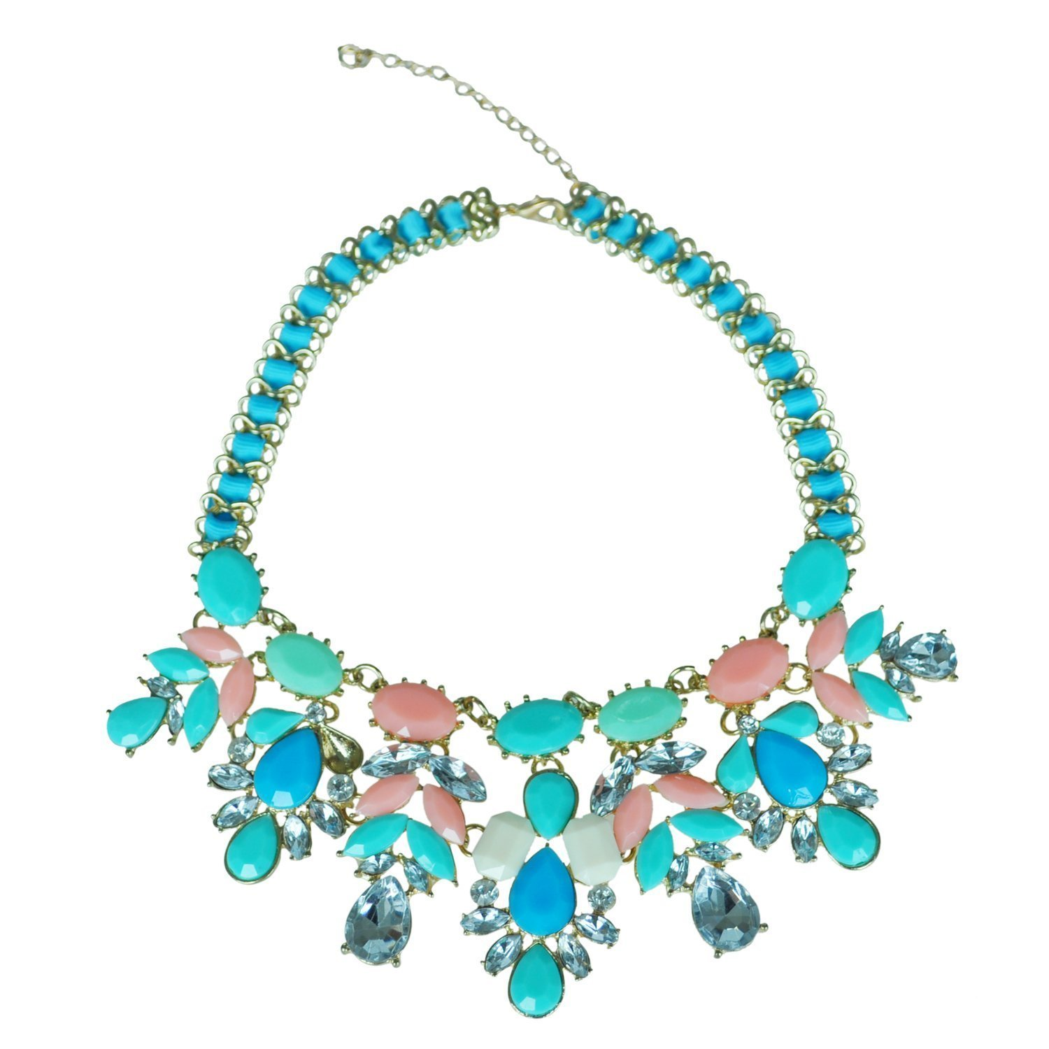 preview shourouk sell buy and crystal details multicolour necklace labellov