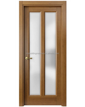 American interior satin glass door