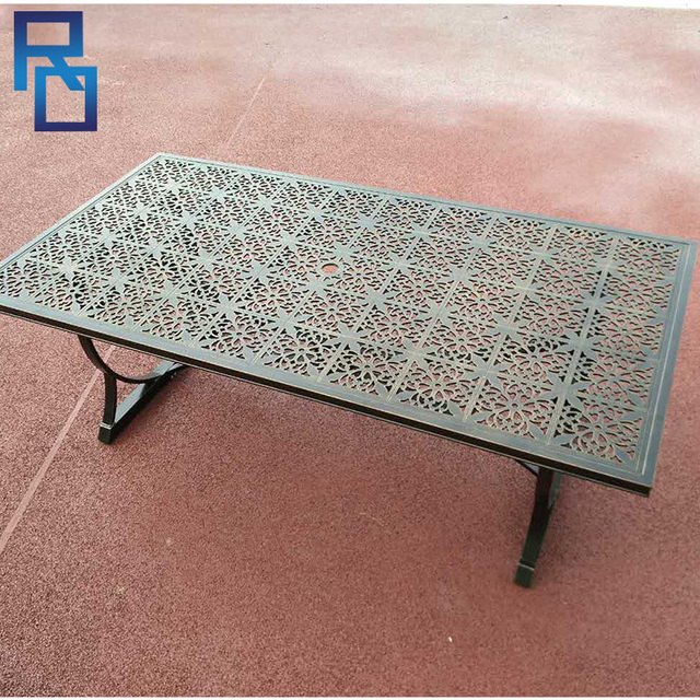 Outdoor Patio Furniture Cast Aluminum Garden Chairs And Table Sets - Buy Cheap China Cast Aluminum Chair Manufacturers Products, Find