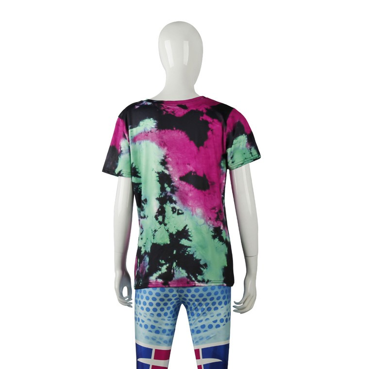 Summer Fashion Colorful Custom T Shirt