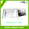 "9""led screen/acrylic video digital picture frame of built-in mp3 mp4 player"