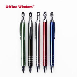 Promotional gift custom metal elegant pen with company logo print