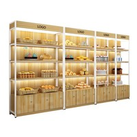 Chinese Wooden & aluminum alloy display racks/store display rack/supermarket shelf