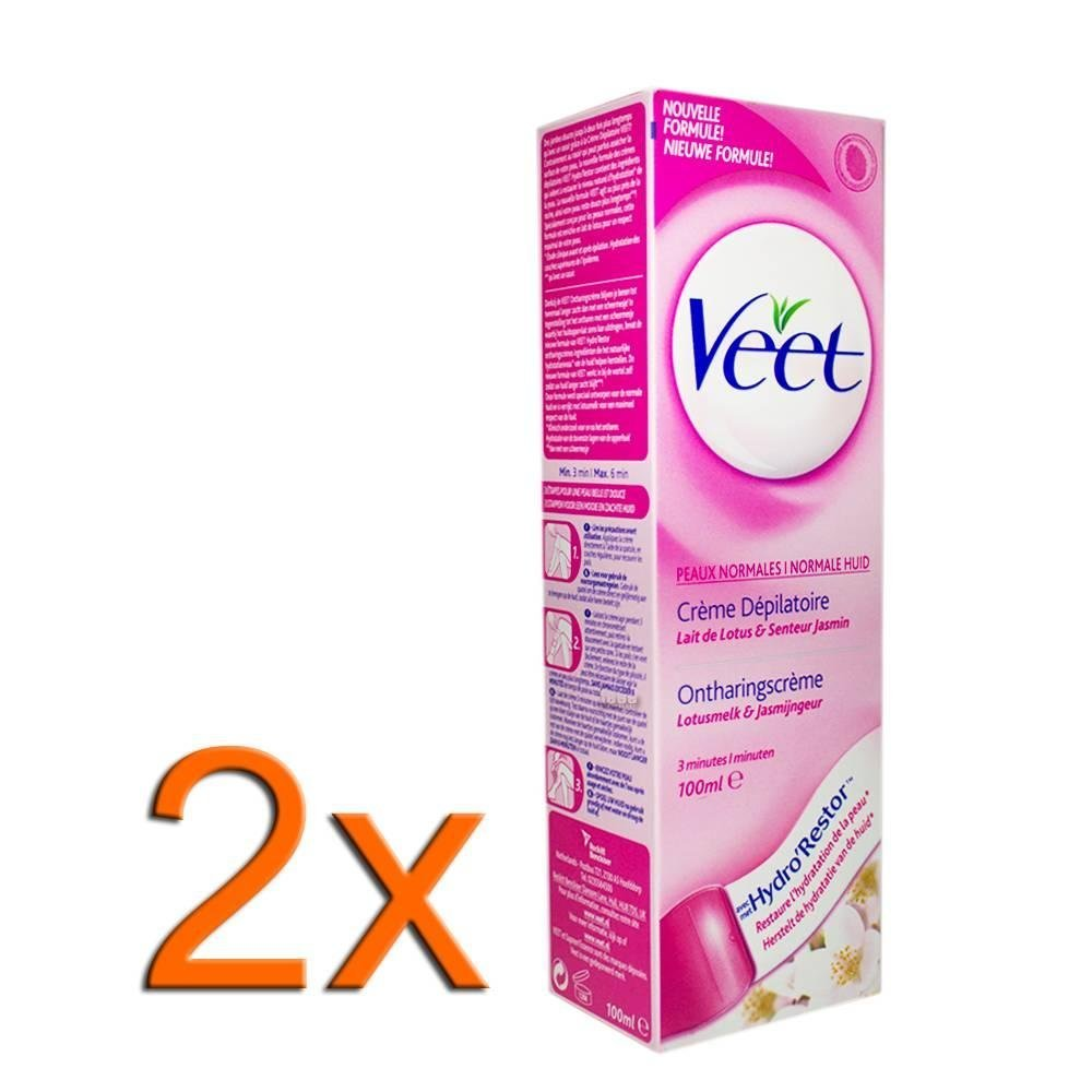 Buy Veet 2x Hair Removal Cream With Lotus Milk And Jasmine To