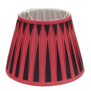 String Large Silk Red High-end Lampshade For Hotel