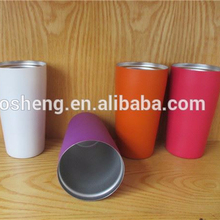 double wall plastic frosty beer cold cup frozen liquid mug