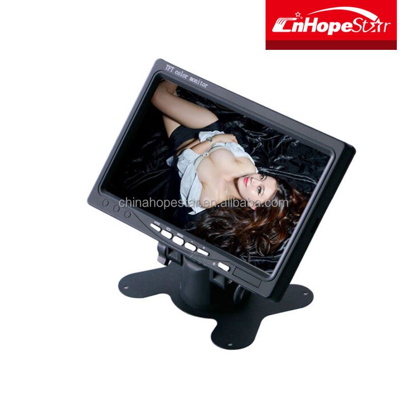 Stock Products Waterproof 7 inch TFT LCD LED Touch Screen Monitor mount for Car PC