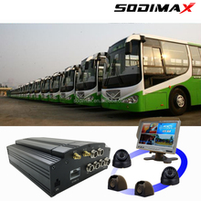 Bus wagenparkbeheer afstandsbediening 3g live video streaming gps wifi HDD dvr mobiele android