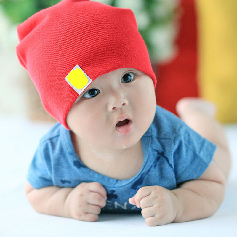 Infant Baby Unisex Cotton Soft Caps Lovely Newborn Kids Hat Beanies