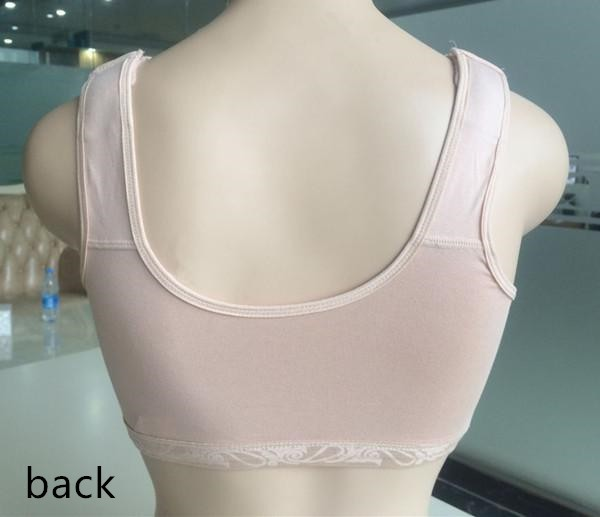 2018 New Design for Breast Cancer Post Operation Women Silicone Fake Boobs Bra Special for Prosthesis Black Beige Pink 3 Colors