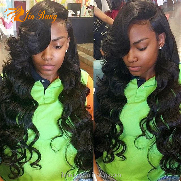Indian Hair wig Type and Full Lace Wig Technique african women virgin Human natural hair wigs