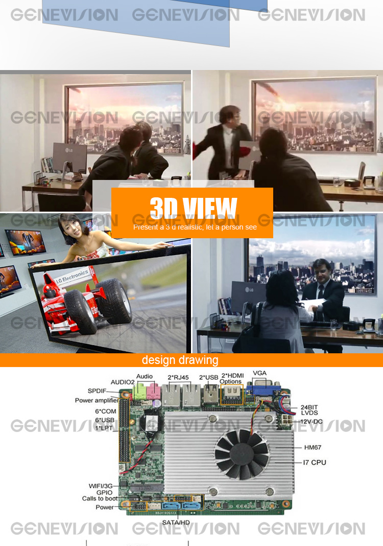 82 Inch big size indoor lcd  wall mounted meeting room advertising monitor Digital Signage touch Screen
