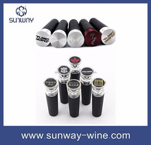 Stainless Steel Vacuum Sealed Red Wine Bottle Stopper Pour Cap Kitchen Wine Bar Tools