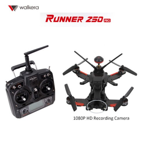 Original Walkera Runner 250 PRO GPS RC Drone DEVO 7 &1080P Camera & OSD Version