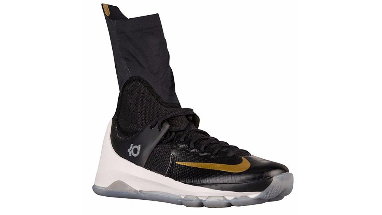 a4cf09b04970 Get Quotations · Nike KD Kevin Durant 8 Elite Highs Black Metallic Gold  834185 071