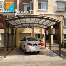 waterproof outdoor roof cambered car porch