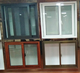 Aluminum frame sliding window glass window