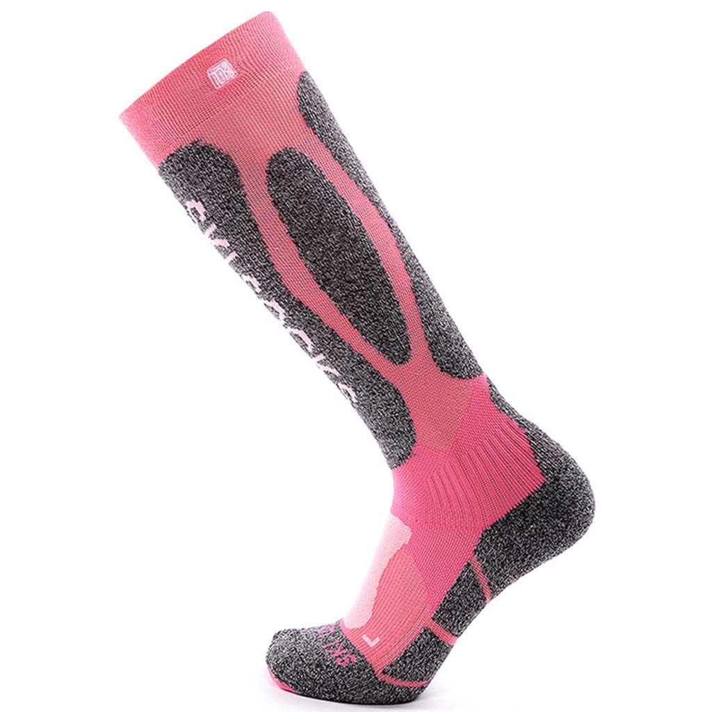 Women Compression Socks Ski Hiking Thermal Socks Wicking Athletic Long Crew Sock