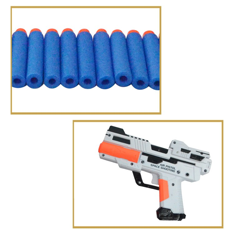 Funny toy plastic double shooting target toy