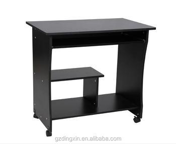 Wood Table Furniture Work Movable Computer DeskDX 8582
