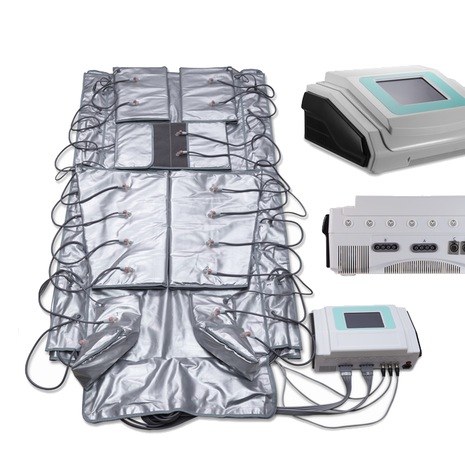 B0304 Spa Use Detox Body Wraps Air Pressotherapy Machine 3 in 1