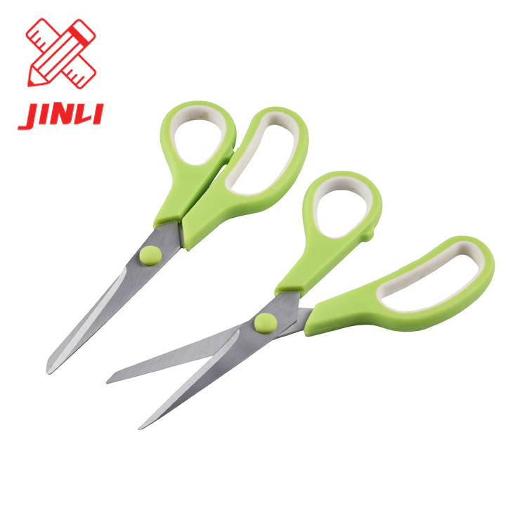 Promotional cheap price PP TPR handle safety school student stationery hand tools office scissors in scissors