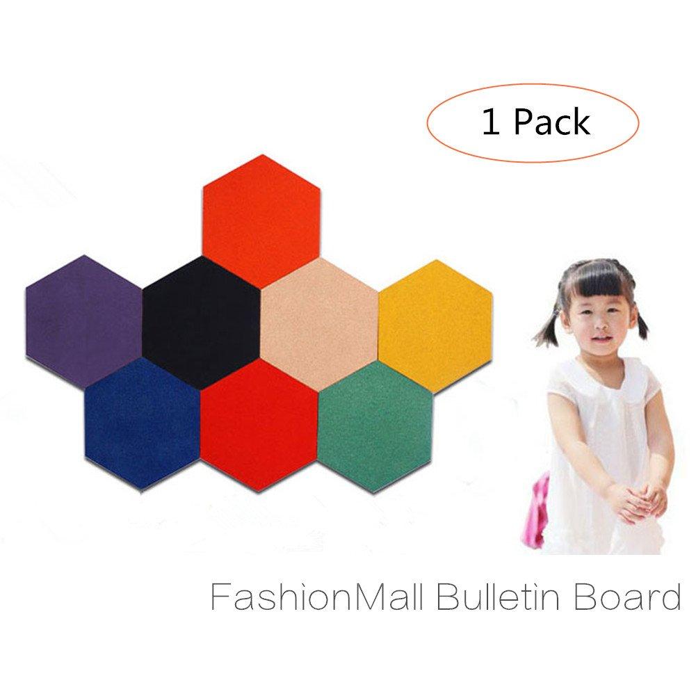Buy Fashionmall Hexagon Colorful Adhesive Bulletin Board Hexagon