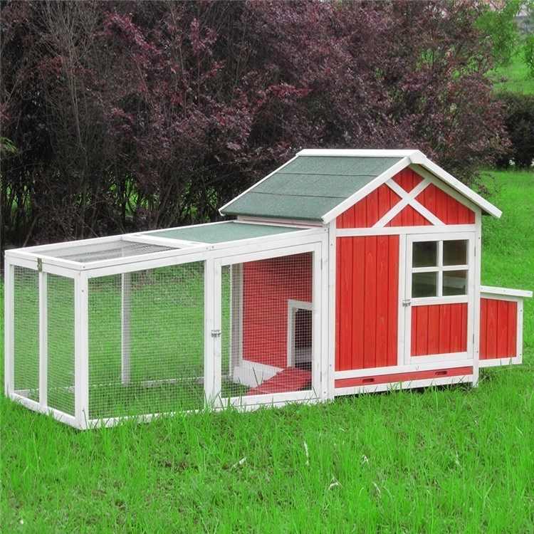 Walk In Chicken House 2017 new wooden chicken coop chiken house with large metal walk in