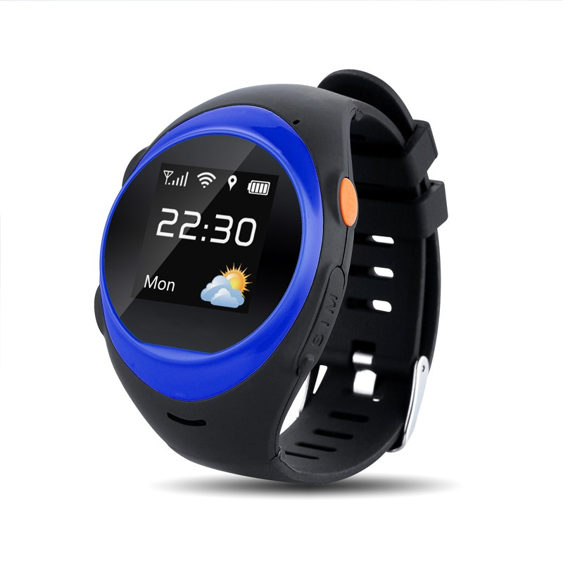 New Free Shipping Kids golf gps watch Tracking Watch with GPS for Dual System, Android, Ios