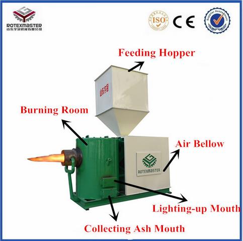 [ROTEX MASTER]Energy effcient industrial biomass pellet burner/ biomass boiler