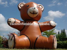 2017 hot giant advertising inflatable teddy bear model