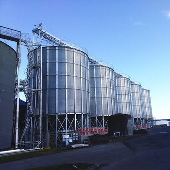 hopper bottom corn maize storage silo price