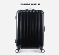 2018 abs pc hard trolley travel wheel spinner suitcase luggage