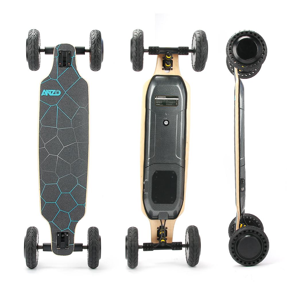 Estoque em EUA Quatro-rodas de mobilidade dos jovens adultos de controle remoto sem fio brinquedo quatro-rodas pequena placa peixe elétrico skate